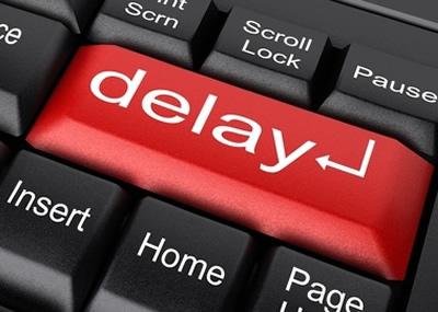 delay receipt
